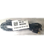 Dell K2490 Laptop 3-Prong 6-Ft Mickey Power Cord Cable For Dell HP Lenov... - $5.79