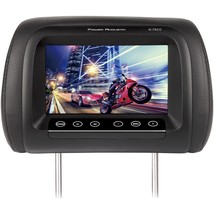"""Power Acoustik 7"""" Lcd Universal Replacement Headrest Monitor With Ir Transm - $74.44"""