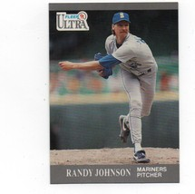 1991 Fleer Ultra #339 Randy Johnson - Mariners NM - $1.25