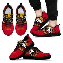 Ottawa Senators Fan Custom Unofficial Running Black Shoes Sneakers Train... - $64.99+