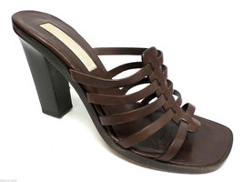 Michael KORS Brown Size 8 Sandals Heels or Shoes - $35.00
