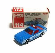 Tomica 114 Chevrolet Camaro Police Car 1/66 Made in Japan - $114.94
