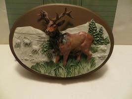 Vintage 1987 Avon American Wildlife Collection Elk - $14.84