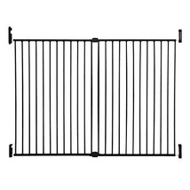 Dreambaby Broadway Extra Wide and Tall Expandable Gate with Track It Technology,