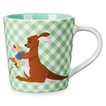 Disney Store Winnie the Pooh Checkered Small Mug 2018 (Roo and Kanga) - $19.40