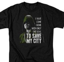 Arrow T-shirt Save My City DC comics TV show super hero graphic Tee ARW120 image 2