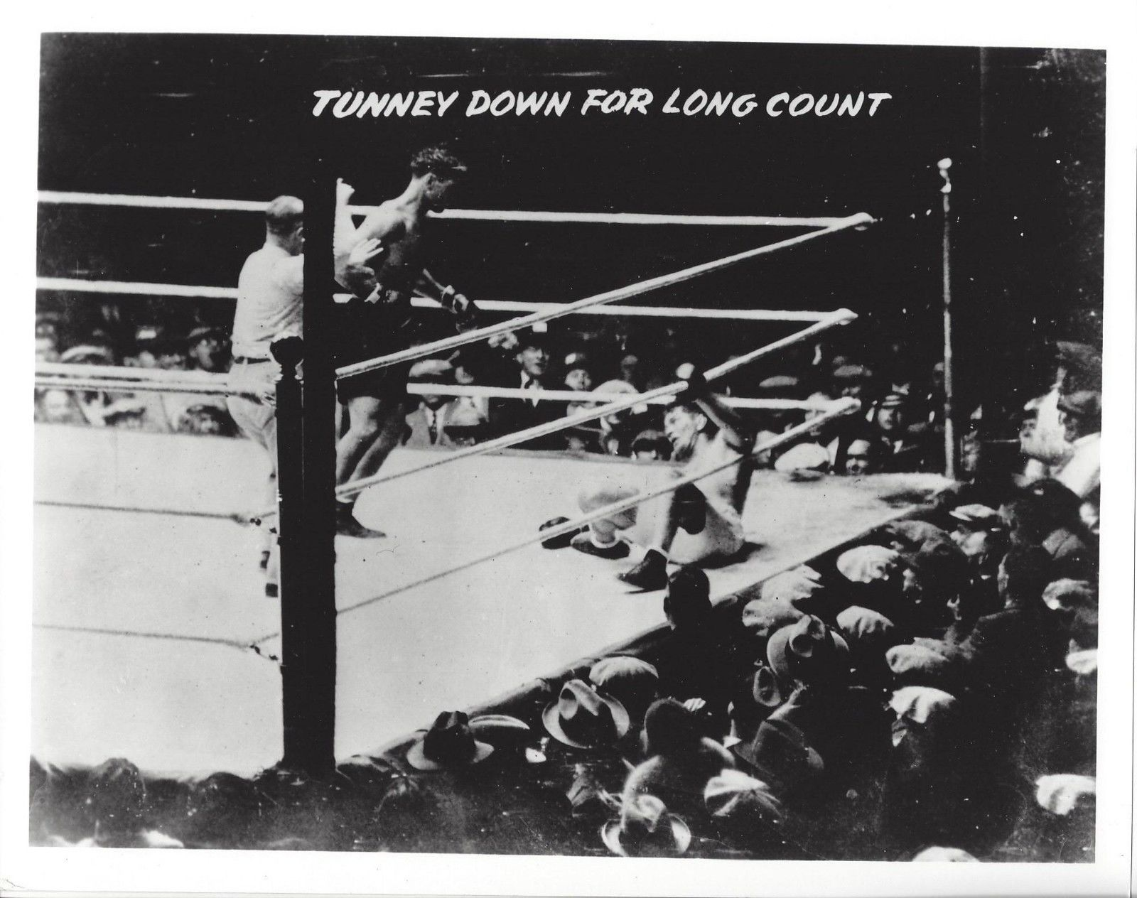 Primary image for JACK TUNNEY LONG COUNT 8X10 PHOTO BOXING PICTURE