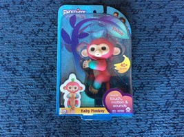 Authentic Fingerlings Interactive Baby Monkey Melon (Pink to Green) - $25.08
