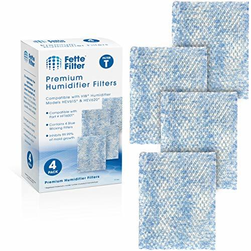 Fette Filter - Premium Treated Humidifier Wicking Filters Compatible with Honeyw