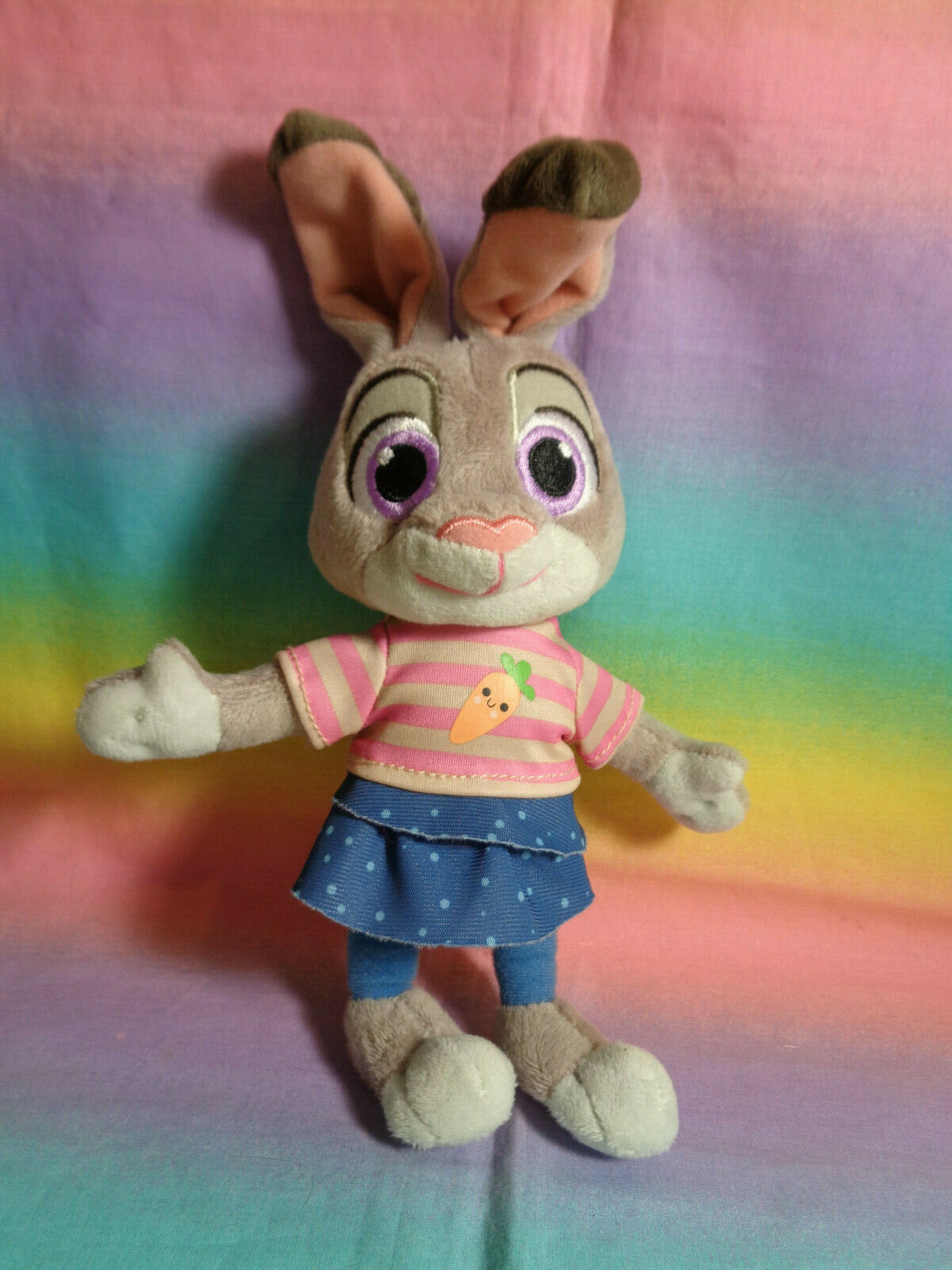 Primary image for Disney Store Genuine Original Zootopia Young Judy Hopps Mini Bunny Plush