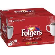 Folgers Classic Roast Coffee K-Cups (100 ct.) - $50.69
