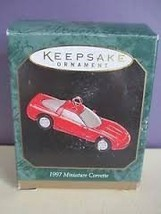 1997 Hallmark Corvette Miniature Ornament - $4.95