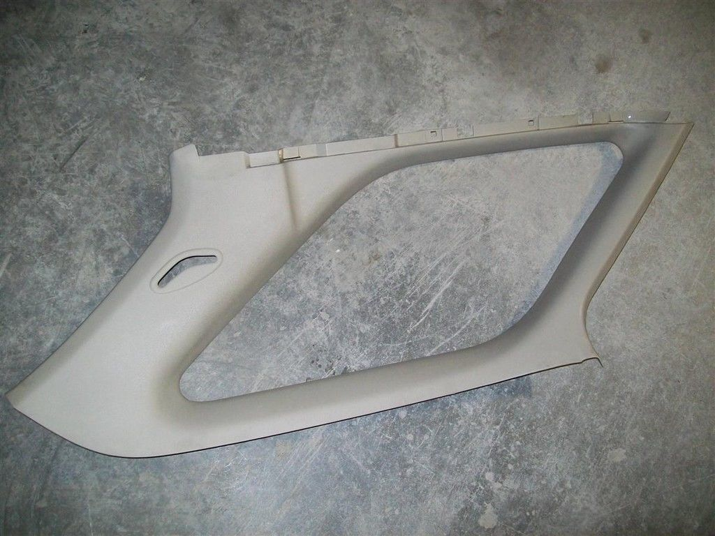 Primary image for 94 95 96 97 Honda Accord Wagon LH Rear Quarter Window Interior TAN Trim Panel