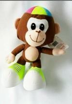 "Silly Brown Big Foot Monkey Beanies Plush Stuffed Animal Toy 8.5"" Tall F... - $10.89"