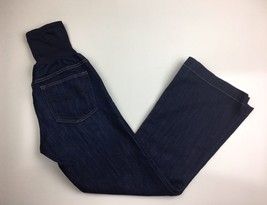 Gap maternity jeans size 27/4r long and lean Flare Cut Dark Wash Stretch - $14.99