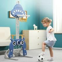 Basketball Backboard Stand Hoop Net Set Kids Children Sports Indoor Outdoor Toys - $90.66