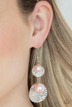 Pearl Dive - Pink Earrings - $2.75
