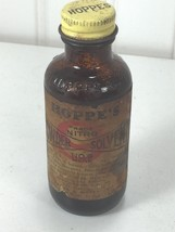 Vintage Hoppes Powder Solvent Bottle  24026 - $20.84