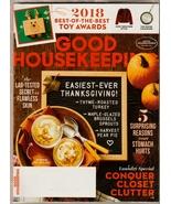 ood Housekeeping November 2018 NEW (in plastic)  - $5.00