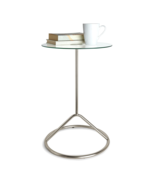Umbra Loop Side Table, Nickel - $1.225,36 MXN