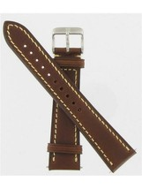 Swiss Army Brand 20mm Brown Leather Infantry Vintage Series Watch Band 003720 - $108.90