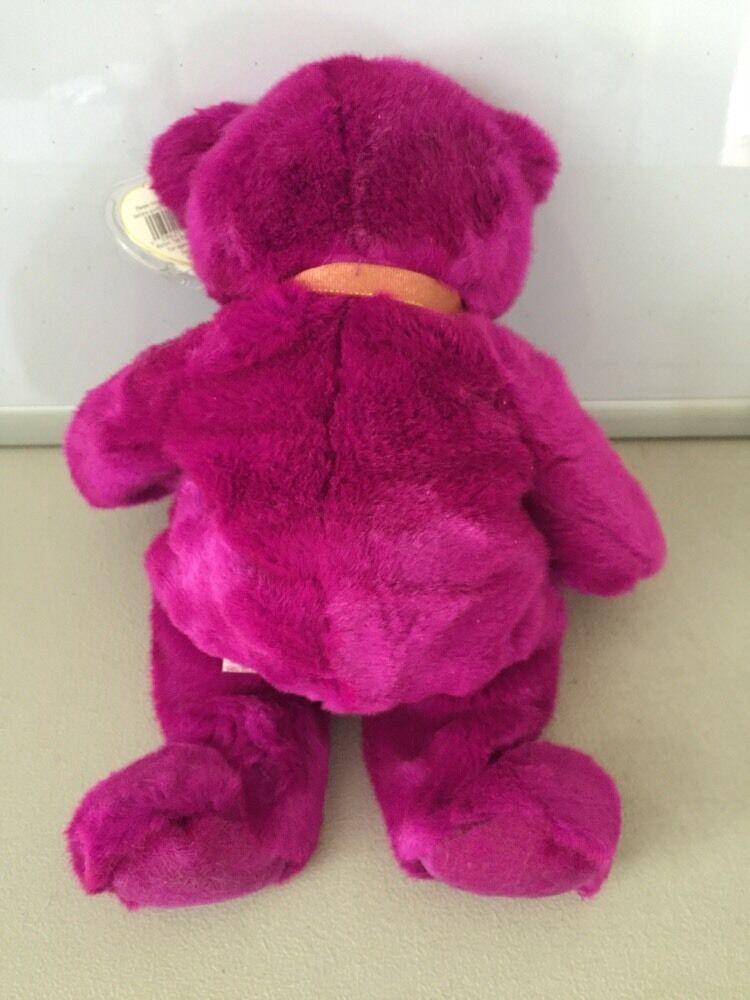 "TY ""Millennium"" Teddy Bear Beanie Buddy 1999 Stuffed plush image 6"