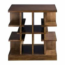 "Uttermost 25990 Simeto - 27"" Multi-Level End Table, Walnut Veneer Finish - $536.80"