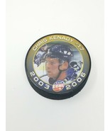 Hockey Commemorative puck Long Beach Ice dogs series 3 Chris Kenady ECHL  - $11.88