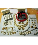 Vintage Signed NAPIER Mixed Jewelry Lot All Signed - $173.25