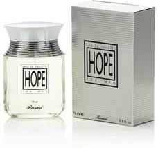 Rasasi Hope For Men Eau De Parfum Fresh,Aromatic,Warm Woods 75ml(Free Sh... - $26.81