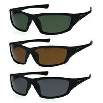 Xloop Mens Polarized Lens Classic 90s Warp Carbon Fiber Print Sport Sunglasses - $12.95