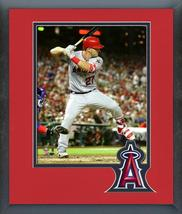 Mike Trout 2018 MLB All-Star Game Action- 11x14 Team Logo Matted/Framed ... - $42.95