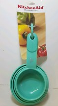 AQUA 4 PC KITCHENAID MEASURING CUP SET - $7.99