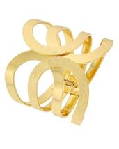 Gold Statement Cuff Bracelet - $23.99