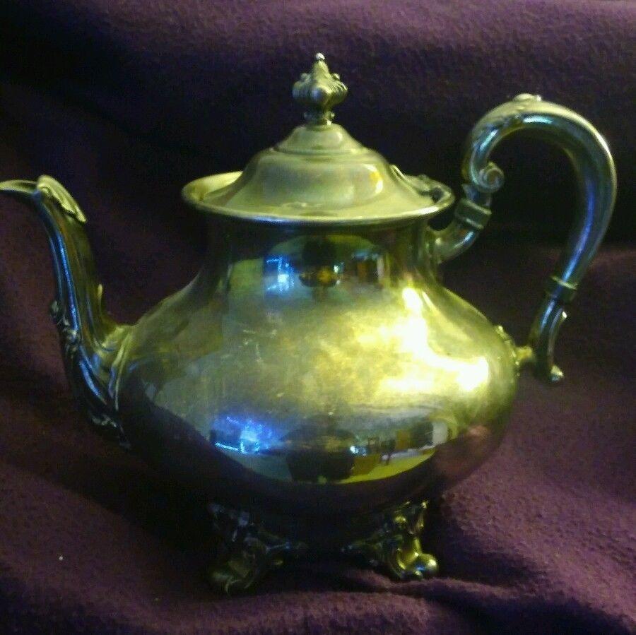 Vintage Reed & Barton Regent Pewter Teapot and similar items
