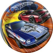 Hot Wheels High Speed Lunch Dinner Plates 8 Per Package Birthday Party S... - $4.21