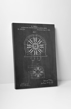 Tesla Electric Motor Patent Print Gallery Wrapped Canvas Print. BONUS WALL DECAL - $44.50+
