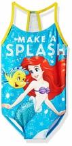 Sirenetta Ariel Disney Upf-50 + Nuoto Costume da Bagno Ragazze Sz 4,5-6 ... - $18.78