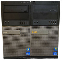 Lot Of 2 Dell Opti Plex 790 Mt Core i3 3.30GHz|4GB RAM|250GB NoOS|7M2WHS1 7M3WHS1 - $118.79