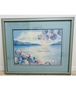 Important Marcy Chapman original watercolor Tropical Florida décor  - $200.00