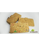 EcoQuote Long Wallet with Zip Button Handmade Cork Material Eco Friendly... - $37.00