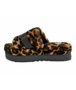 UGG Fluffita Panther Print Butterscotch Women's Slipper Slides 1122556 - $101.00