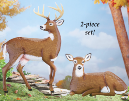 Buck and his Doe Deer - $21.95