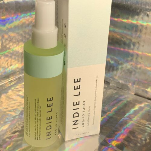 New In Box FULL SIZE Indie Lee COQ-10 Toner CLEAN BEAUTY 4.2 Oz. All Natural