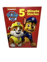 PAW Patrol 5-Minute Stories Hardcover Book Collection Nickelodeon New Ra... - $13.08