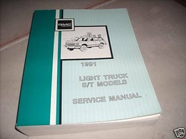 1991 GMC S/T ST Models Truck Service Shop Repair Workshop Manual 91 OEM  - $98.95