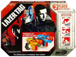Nerf Laser Tag Phoenix LTX 2-Pack Lazer Taggers Multiplayer Combat Battl... - $379.99