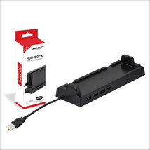 Dobe Switch Vertical Stand Dock wtih 4 Port USB Hub for Nintendo Switch ... - $20.15 CAD