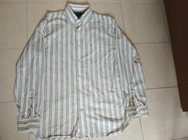 Tommy Hilfiger (Vertical Stripe) Dress Shirt - Vintage - $110.00