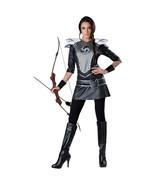 KATNISS EVERDEEN Womens MIDNIGHT HUNTRESS Costume Mockingjay Hunger Games - $19.95